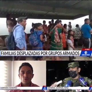 Análisis: Continuan los desplazamientos masivos en Choco