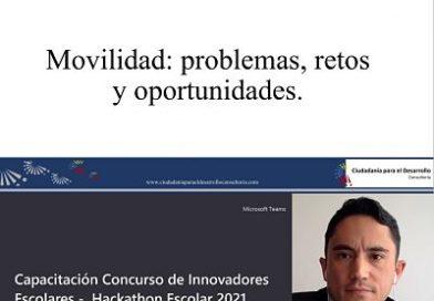 Conferencia: Movilidad: problemas, retos y oportunidades.