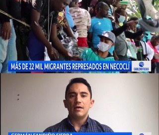 Análisis: crisis migratoria en Necoclí  – 22.000 personas buscan mejores oportunidades.
